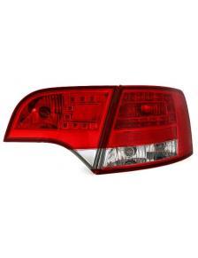 LAMPY TYLNE LED AUDI A4 B7 AVANT RED WHITE 11/04-3/08