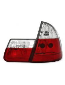 LAMPY TYLNE BMW E46 TOURING 10/99-2/05 RED WHITE