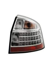 LAMPY TYLNE DIDOWE AUDI A4 B6 00-04 SEDAN CHROM