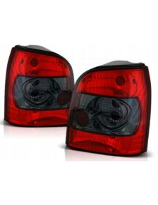 Lampy tył Audi A4 B5 Avant Kombi Clear Red / Black