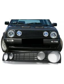GRILL VW GOLF 2 4 DZIURY CZARNY ABS