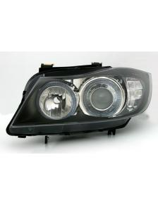 LAMPY ANGEL EYES BMW E90 E91 LED BLINKIER CZARNE