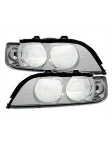 KLOSZE LAMP PRZEDNICH BMW E39 96-00 KLAGRAS CHROM