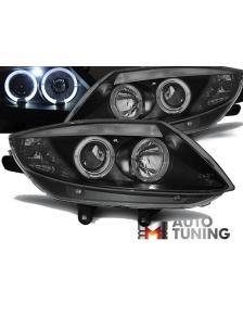 LAMPY ANGEL EYES BMW Z4 E85 E86 02-08 BLACK