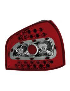 LAMPY TYLNE DIODOWE AUDI A3 8L 8/96-8/03 RED