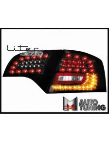 LAMPY TYLNE LED AUDI A4 B7 AVANT 04-08 BLACK