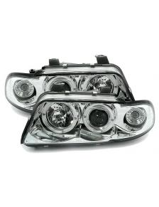 LAMPY ANGEL EYES AUDI A4 99-01 CHROM