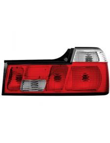 LAMPY TYLNE BMW E32 06.86-04.94 RED WHITE