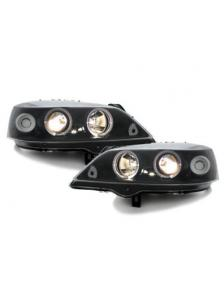 LAMPY ANGEL EYES OPEL ASTRA G 98-04 BLACK