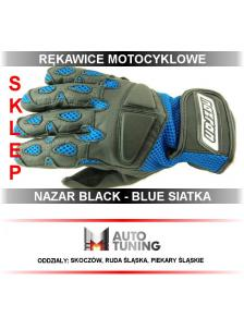 RĘKAWICE NAZRAN BLACK&BLUE...