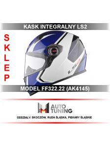 KASK LS2 CORSA WHITE BLUE...