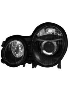 REFLEKTORY MERCEDES W210 99-01 BLACK