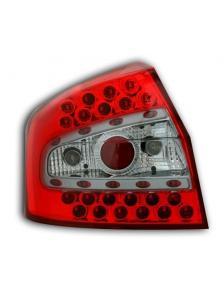 LAMPY TYLNE DIODOWE AUDI A4 8E SEDAN 00-04 CZERWONE