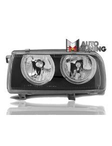 LAMPY ANGEL EYES VW VENTO 92-98 BLACK