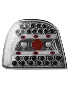 LAMPY TYLNE DIODOWE VW GOLF 3 91-98 CHROM