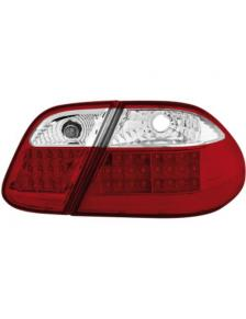 LAMPY TYLNE LED MERCEDES CLK W208 98-02 RED WHITE
