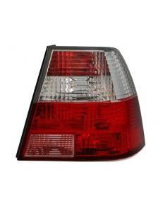 LAMPY TYLNE VW BORA RED CRYSTAL
