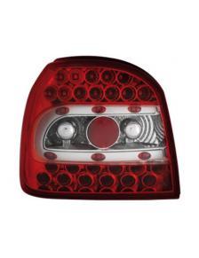 LAMPY TYLNE DIODOWE VW GOLF 3 91-98 CZERWONE