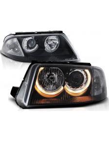 LAMPY ANGEL EYES VW PASSAT 3BG 10/00-3/05 CZARNE