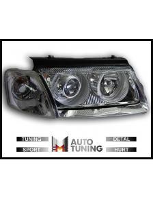 LAMPY PRZEDNIE ANGEL EYES VW PASSAT 3B 96-10/00 CHROM