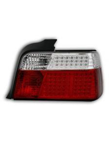 LAMPY DIODOWE BMW E36 SEDAN RED CRYSTAL