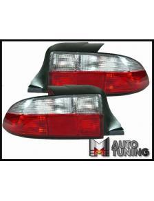 LAMPY TYLNE BMW Z3 BIAŁO-CZERWONE
