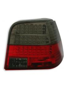 LAMPY TYLNE DIODOWE VW GOLF 4 98-04 RED SMOKE