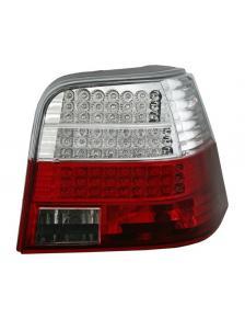 LAMPY TYLNE DIODOWE VW GOLF 4 98-04 RED WHITE